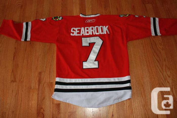 separation shoes 3730c 45404 Chicago Blackhawks Brent Seabrook Jersey for sale in ...