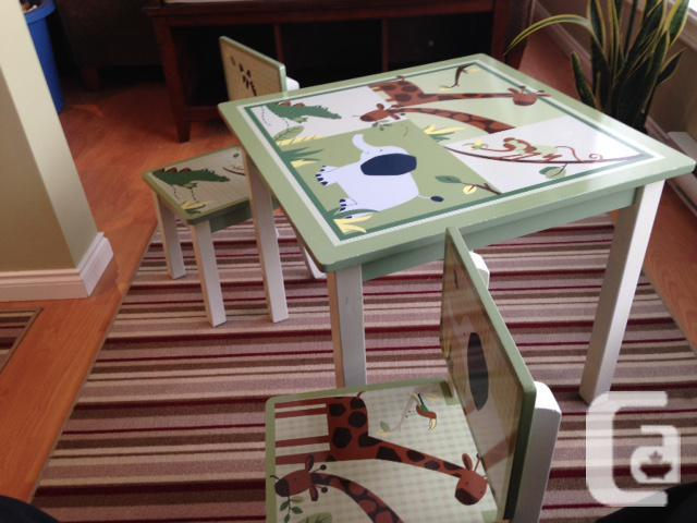 children 39 s arts and crafts table for sale in telegraph. Black Bedroom Furniture Sets. Home Design Ideas