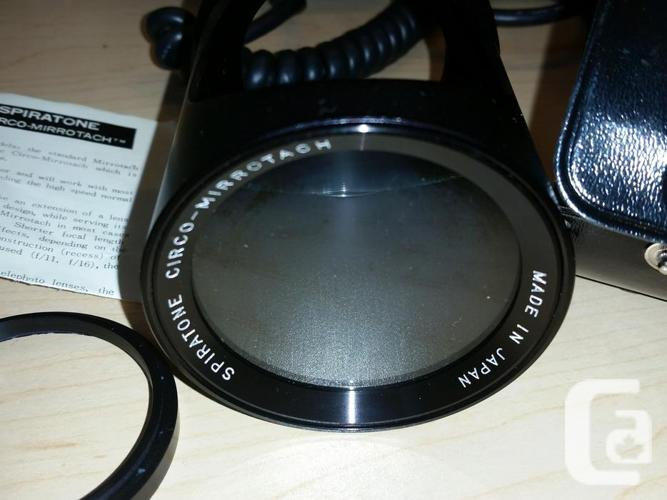 Circo-mirrotach spiratone lens. Treasure Island