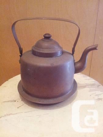 Classic cooper tea containers - $30