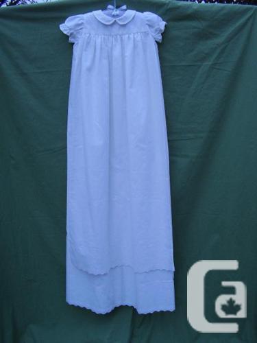 Closing Sale! 1987 vintage Christening Dress / long