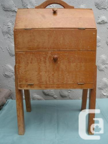 Closing Sale! Handmade wooden sewing Cabinet - Sewing