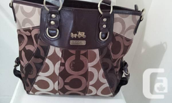 COACH TOTE /SHOULDER BAG COMPL.BRAND NEW WITH TAGS -