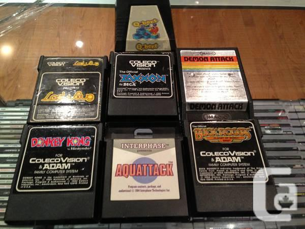 COLECOVISION GAMES COLECO VISION for sale in Kitchener