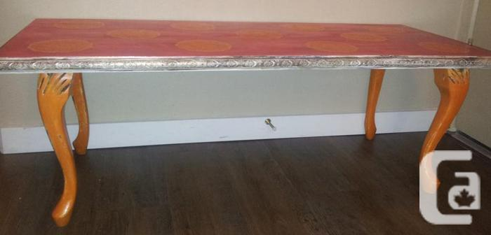 Colorful Boho Style Coffee Table For Sale In Victoria British Columbia Classifieds