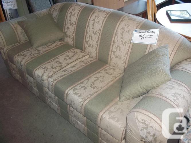 Comfortable Couch for sale at St Vincent de Paul on Quadra ...