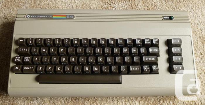 DESIRED: Commodore 64