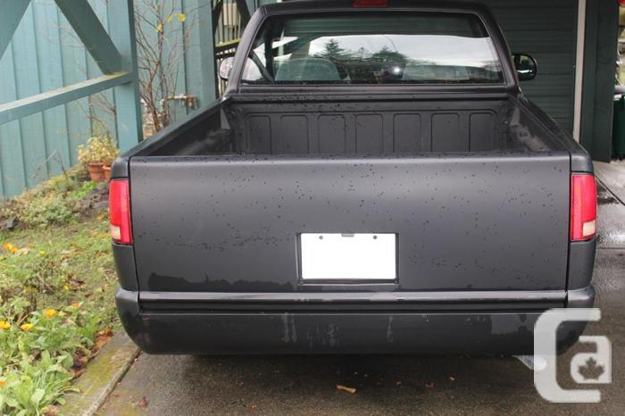 Compact Chevy S10 For Sale In Chemainus British Columbia