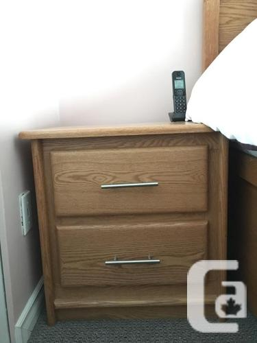 Complete bedroom set with mattress for sale in langley for Complete bedroom sets for sale