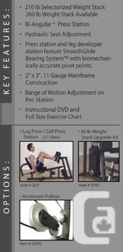 Complete Bodysolid G6B Home Gym for sale in Nanaimo, British