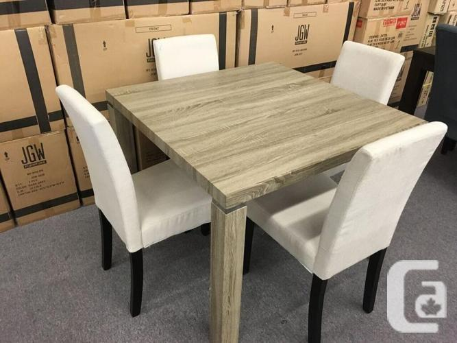 Condo Size Dining Table/4 chairs- Brand New-