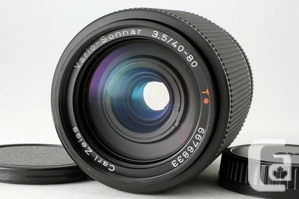 Contax Carl Zeiss 40-80mm f3.5 zoom for Sony NEX - $400