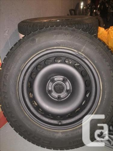 Continental winter tires for VW Tiguan, etc....
