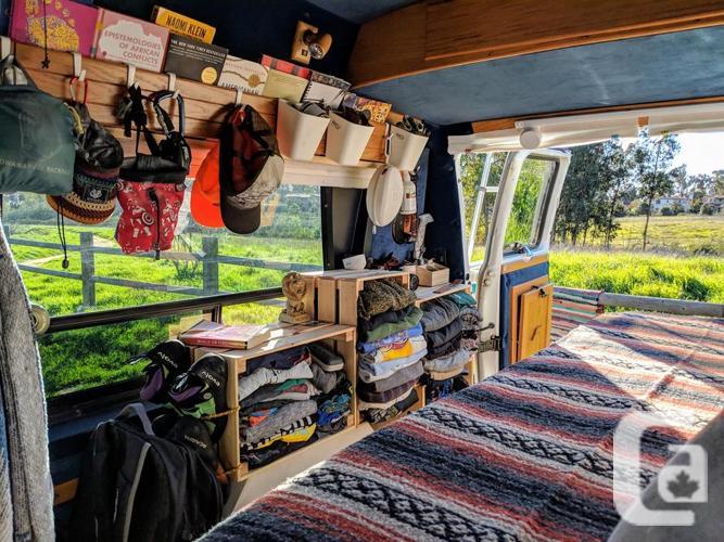 Conversion van, upgraded interior!
