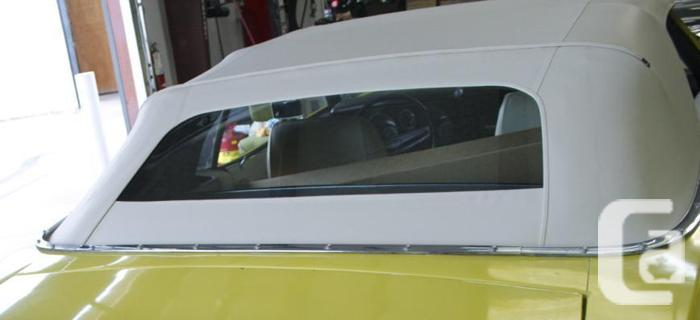 Convertible Top Plastic Windows - Blow Out Special