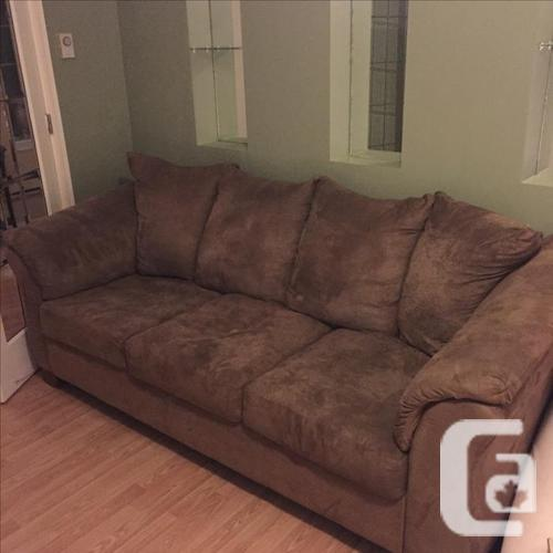 Couch chair and ottoman for sale in victoria british for Furniture victoria bc