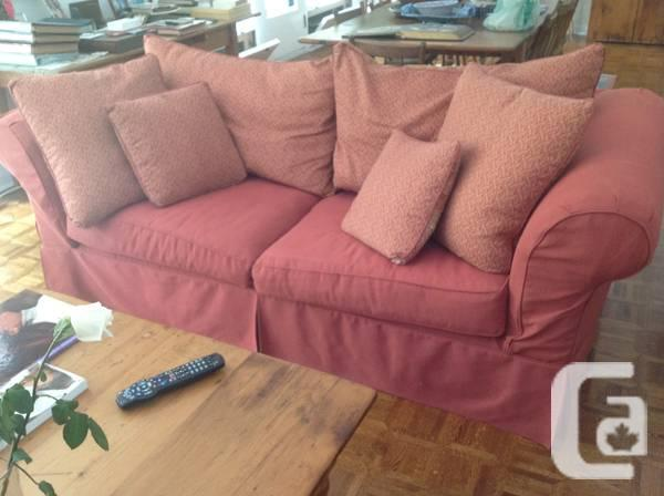 Country Style/Shabby Chic Upholstered Sofa - $1300