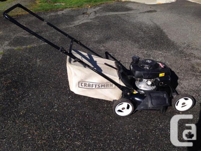 Craftsman Gas Lawn Mower For Sale In Victoria British
