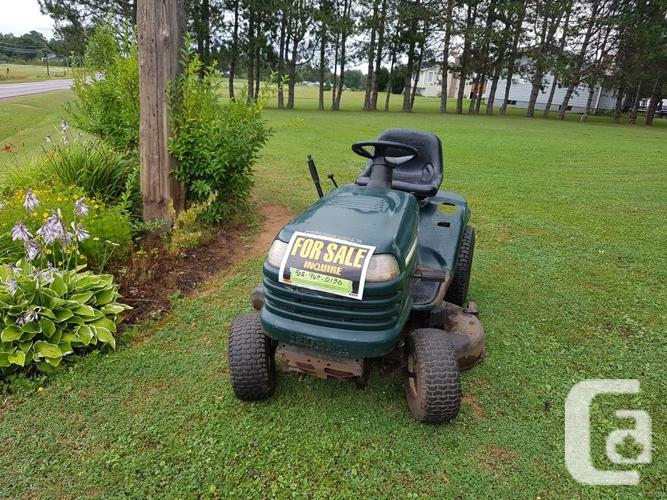 Craftsman LT1000 Ride On Lawnmower in Montague, Prince Edward Island for  sale