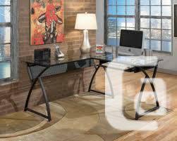 Crandall L-Shaped Home Office Desk - $150