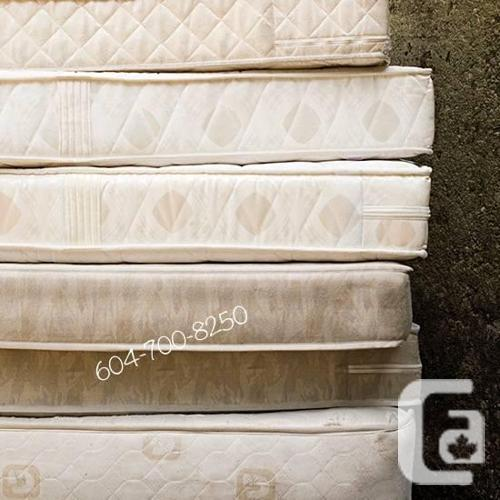 CRAZY SELECTIONS OF USED MATTRESSES THE BIG IN