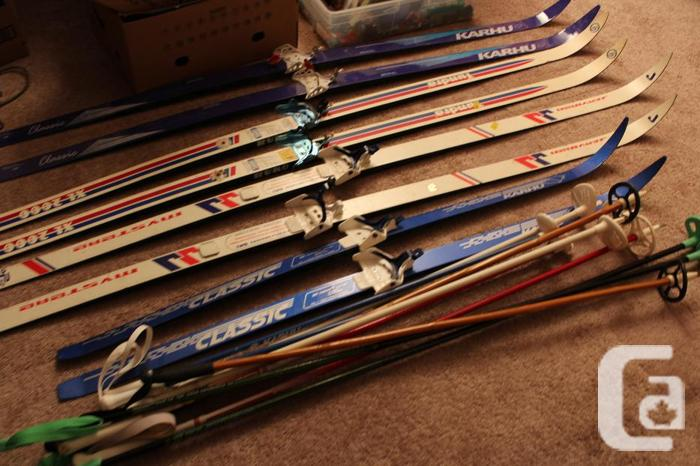 Cross country skis available