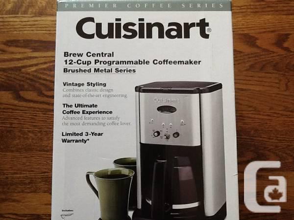 Cuisinart 12-cup coffee maker -- only used once! - $40