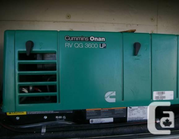 CUMMINS-ONAN RV GENERATOR FOR SALE - $2900