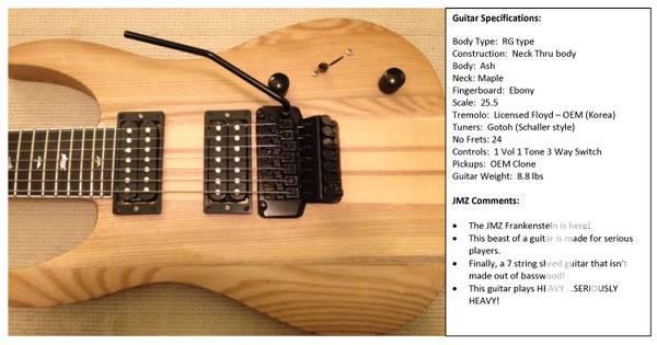 Custom Built Guitars