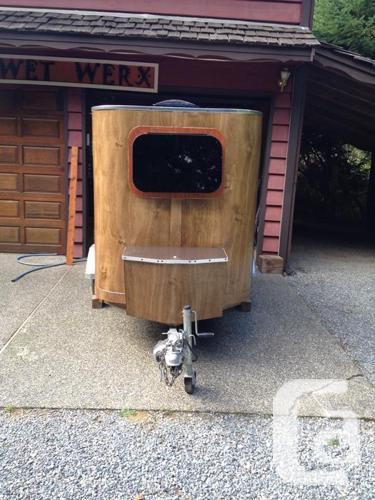 Custom Teardrop Camper Trailer/Travel Trailer NEW PRICE! in Westholme,  British Columbia for sale