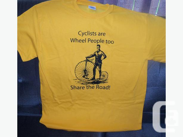 Cyclists- tell motorists to share the road!