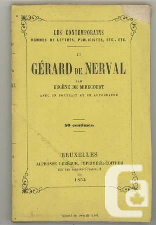 De 1854 resource Brussells german poet - elizabeth.