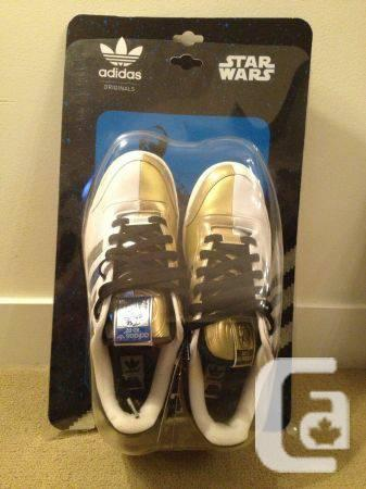 DEAD STOCK STAR WARS ADIDAS R2D2/C3PO SHOES - $100 in Richmond, British  Columbia for sale