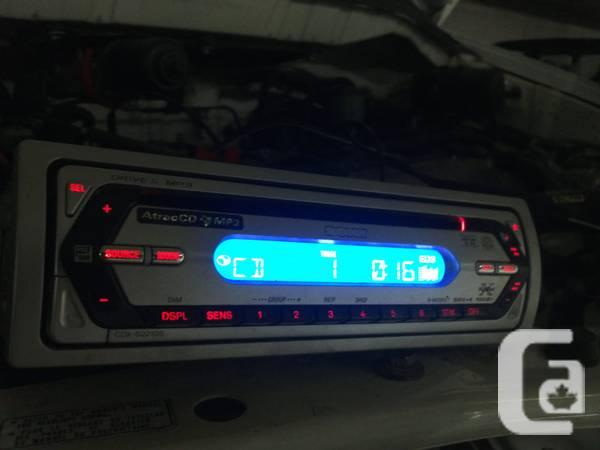 Deck CD Player Sony CDX-S22105, MP3 - $30