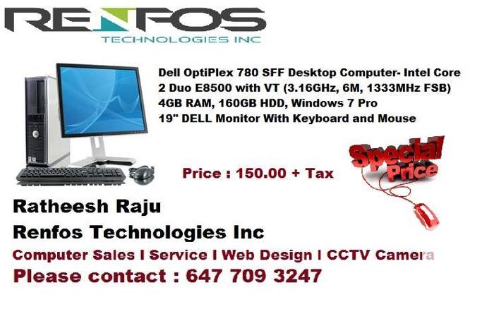 Dell Desktop Offer, Mississauga
