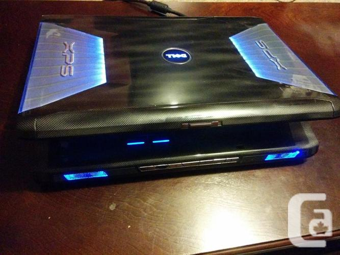 Dell XPS M1730 17'' Gaming Laptop w/ NVidia 8800 GTx2 & Core2Extreme 2 8Ghz  CPU in Telegraph Cove, British Columbia for sale