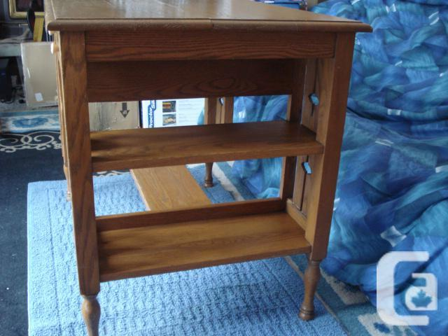 Desk Antique Solid Oak Mission Style For Sale In Garden River Ontario Classifieds