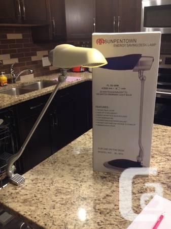 Desk lamp - energy saving - $30