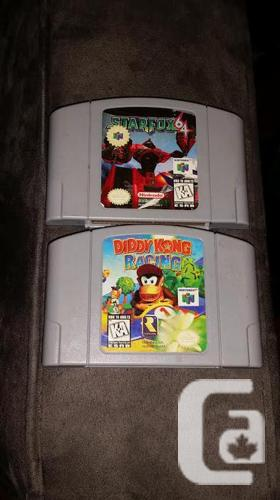 Diddy Kong Racing & Star Fox for N64