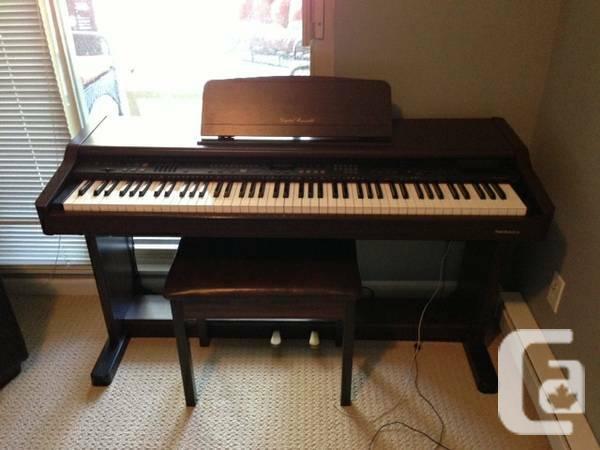 digital piano technics digital ensemble sx pr170 piano for sale in port moody british. Black Bedroom Furniture Sets. Home Design Ideas