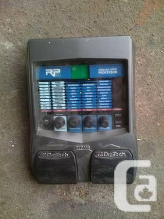 DigiTech RP150 Multi-Effects Guitar Effect Pedal - $80