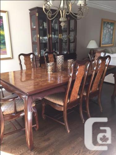 dining table and china cabinet set for sale in nepean