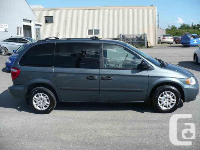 Dodge Caravan. Fresh examination. Winter wheels!