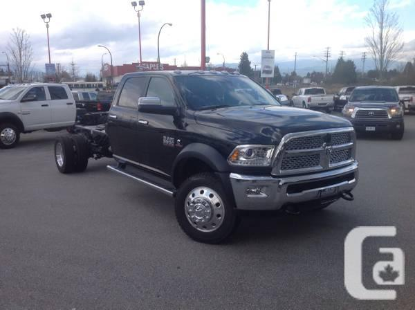 DODGE RAM LARAMIE 5500 CREW NAV, HEATED LEATHER,
