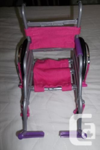 Doll Pop Star Guitar & Microphone Playset.or wheelchair