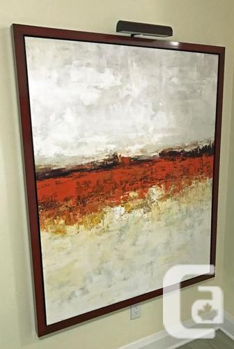 Don Bishop 46x56 Acrylic Painting (paid $2800)