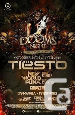 Dooms Night Tickets / Hard Copies / PNE / Tiesto / Day