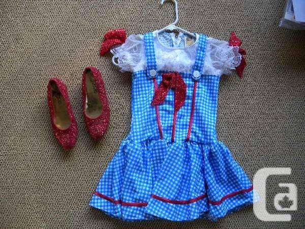 Dorothy Costume - $35