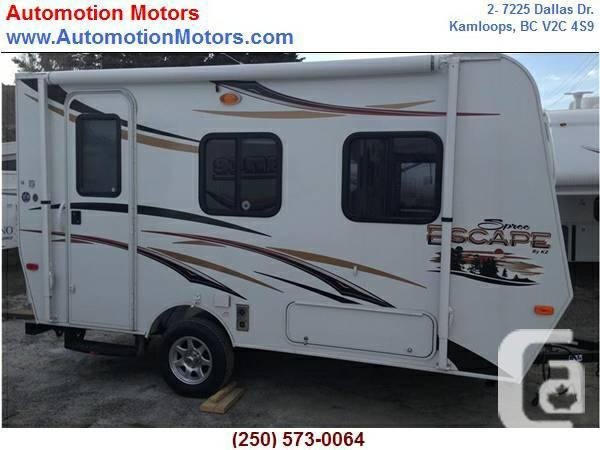 mobile homes for sale kamloops bc with Dry 2140 Pounds E14rb 2013 Kz Spree Escape 610 4071186 on Orphan Trusses For Sale All 50 Off Or More 25337051 also 2007 Takena 1860 Travel Trailer  25059635 furthermore 1987 Travelaire 22908660 likewise Class C RV For Sale Needs Work 25297788 furthermore 18 Ft 5th Wheel 28049829.