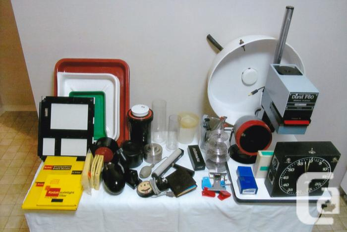 Durst F60 Enlarger and photo development accessories